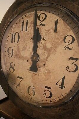 1910 station clock, railwayana, antique, trains, 1900s