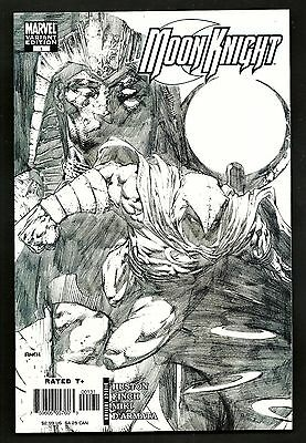 Moon Knight 1 (Lot of 2) Sketch Variant Signed David Finch 1st Print Marvel 2006