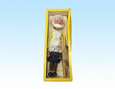 """Vintage Pelham Puppet """"Gepetto"""" In Box Of Issue"""