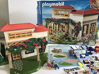 Pre owned Playmobil Summer House set 4857 with box and instructions