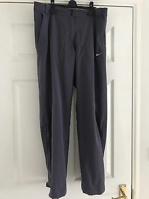 Ladies Nike Water Resistant Golf Trousers. Size 16/18