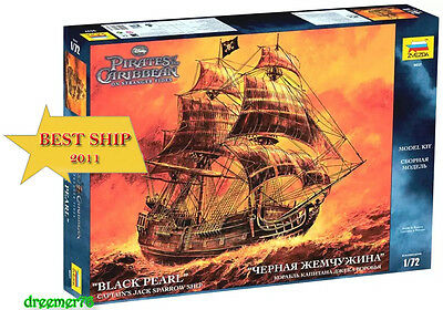 Black Pearl Captain Jack. Pirates Of The Caribbean. Scale: 1/72, New In Box