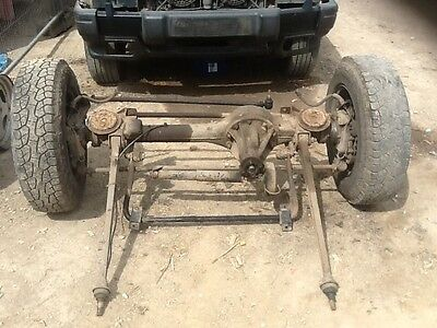 Landrover Discovery 300 tdi Front Axle complete,!