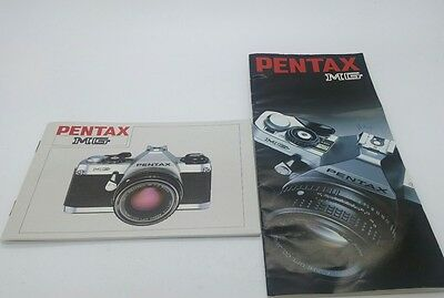 Pentax MG film camera Instruction Manual and Guide book