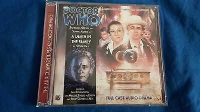 Doctor Who A Death In The Family Audio Drama CD (Big Finsih)