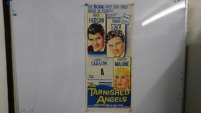 The Tarnished Angels Original Daybill Movie Film Poster Rock Hudson 1958