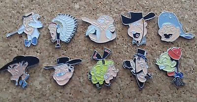 lot pin's bd lucky luke