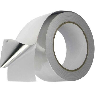 48Mm Aluminium Foil Tape Big Rolls Reflective Self Adhesive Insulation