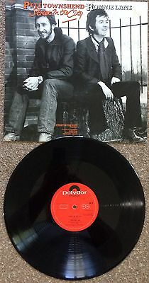 """Pete Townshend/Ronnie Lane..Street In The City 1977 Pop/Rock 12"""""""