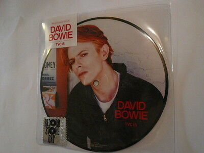 """DAVID BOWIE TVC15 - 40th anniversary 7"""" Picture Disc - 0825646963706"""