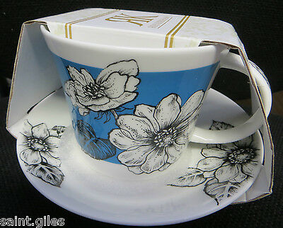 ROY KIRKHAM Fine Bone China Cup & Saucer, comes unused in original packaging