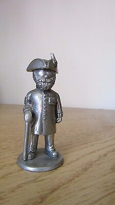 Quality Pewter Chelsea Pensioner ? Figurine ~ excellent quality