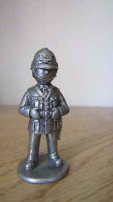Quality Pewter Policeman London Bobby Pewter Figurine ~ excellent quality