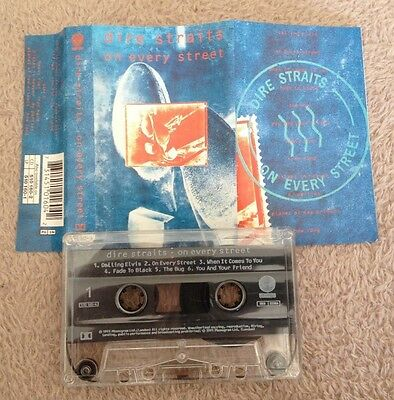 Cassette Dire Straits On Every Street 1991.
