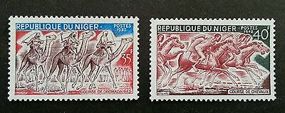 Niger Camel Horse Race 1972 Riding Sport (stamp) MNH *recess effect *unusual