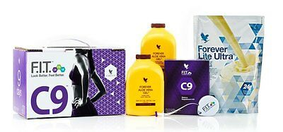 Forever Living C9 Full Pack 9 Day Detox Chocolate for weight loss