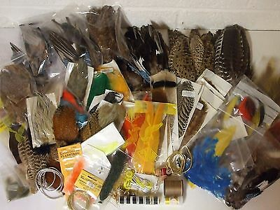 Fly Tying collection - Job lot - 100's of items