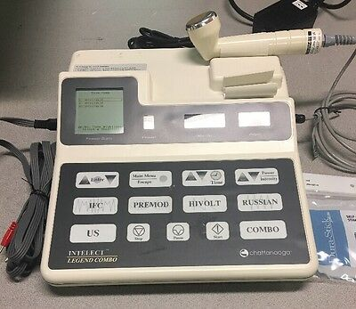 Chattanooga Intelect Legend Combo 2C Ultra with 5cm Ultrasound Applicator