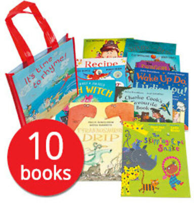 It's Time to Rhyme Collection - 10 Books in a Bag