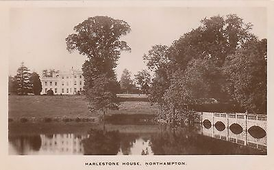 Harlestone House, Lost Country House,  Rp, Northamptonshire Circa 1920