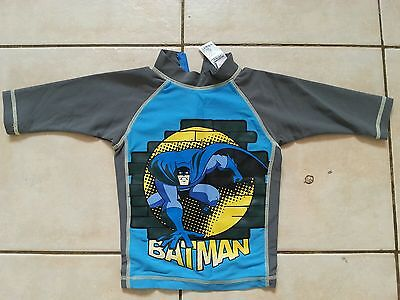 Batman Swimming Top Size 18-24 Months 1.5-2 Years