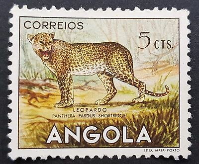 Leopard - Angolan animals 1953 Angola stamp for sale please click to view