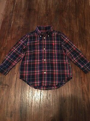 Boys Age 3 Ralph Lauren Shirt In Excellent Condition