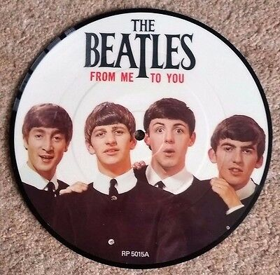 "Beatles 20th anniversary 7"" picture disc ""From Me to You"""