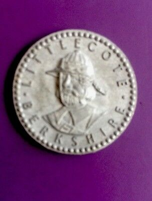 britain-Littlecote Hungerford Berkshire- Zinc Coin