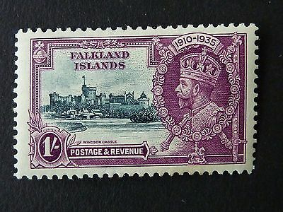1159]  Stamps Of Falkland Islands  1935 Silver Jubilee  M/mint