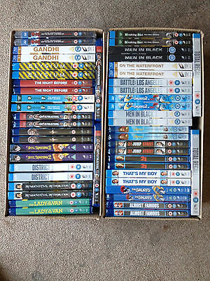 50 X Blu Ray *official Uk Releases And All New And Sealed* Free Post