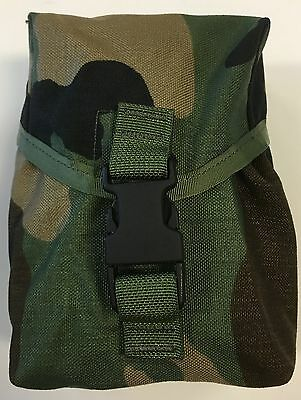 Us Gi Gregory Spear Safariland Woodland M-60/saw 100 Rd Pouch New (13_147)