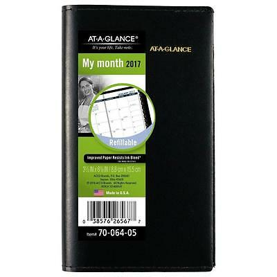 2017 AT-A-GLANCE Monthly Pocket Planner 70-064-05