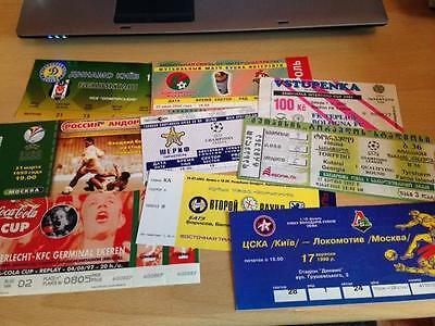 9no EUROPEAN COMPETITION - MATCH TICKETS