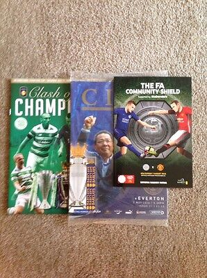 Leicester City Programmes 2016