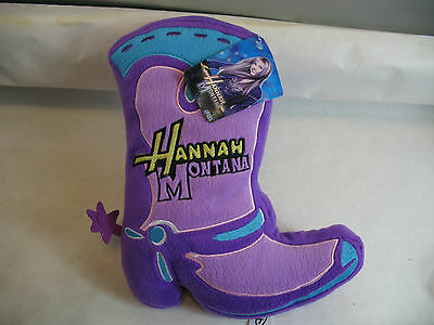 Hannah Montana Stuffed Boot with tag