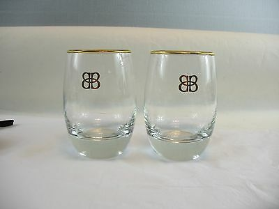 Set of two Bailey's glasses New