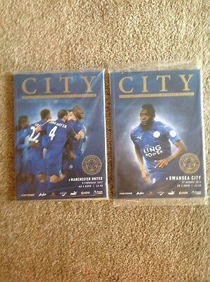 Leicester City Home Programmes 2016/17