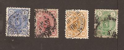Finland. Small selection of old stamps. What you see is what you get !