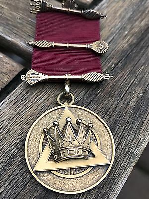 Masonic Royal Arch Sterling  Antique Medal Jewel