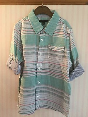 Brand New Marks and Spencer's Autograph boys shirt 6-7 years