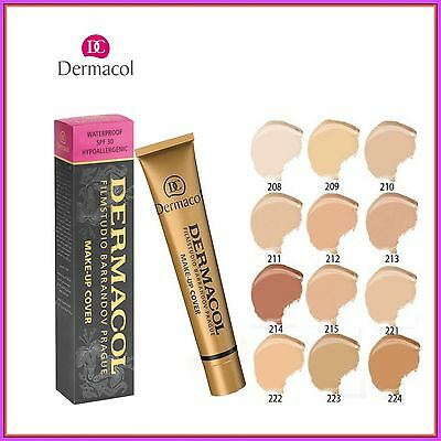 🔥Dermacol High Covering Make Up Foundation Legendary Film Studio Hypoallergenic