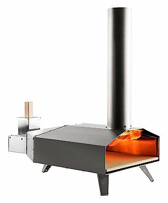 Ooni (Uuni) 3 Wood Pellet Pizza Oven W/ Stone, Stainless Steel (free shipping)