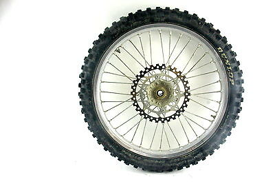 front wheel rotor 1998 CR250R CR 250R assembly 80/100-21 CR500R CR125R 97-01
