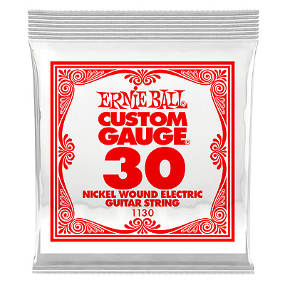 Ernie Ball .030 Nickel Wound Electric Guitar String 1130 single