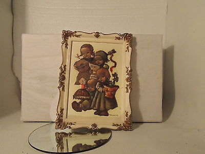 Berta Hummel made in west germany  minature Print with frame by Gdk