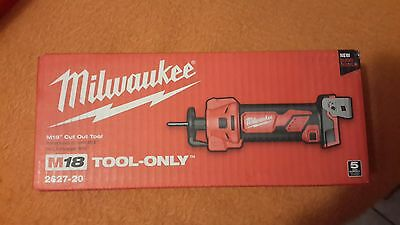NEW Milwaukee 2627-20 M18 Cut Out Tool 18 Volt Lithium-Ion Cordless 28000 RPM