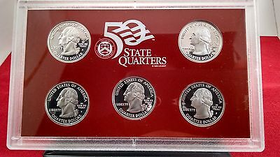 2006 State Quarters Silver Proof Set W Box And Coa