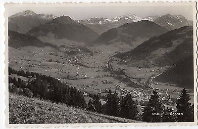 SAANEN ~ AN OLD REAL PHOTO POSTCARD (t32)