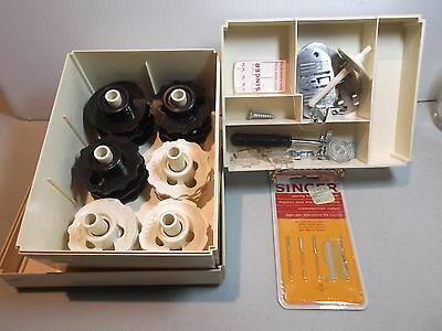 Vintage Singer Sewing Machine Attachments & Cams